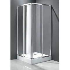 Душевой уголок 90x90 прозрачное стекло CEZARES FAMILY-D-A-2-90-C-Cr