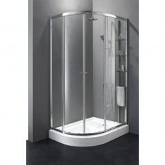 Душевой уголок Cezares Anima 120x100 см текстурное стекло ANIMA-RH-2-120/100-P-Cr-R