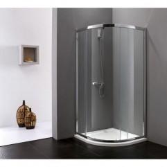 Душевой уголок Cezares Anima 90x90 см прозрачное стекло ANIMA-R-1-90-C-Cr