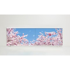 Экран под ванну 150 см. Alavann Print цветы (раздвижной)