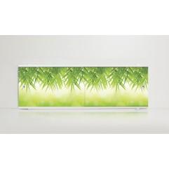 Экран под ванну 150 см. Alavann Print листья (раздвижной)