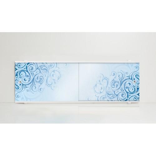 Экран под ванну 150 см. Alavann Print узор (раздвижной)