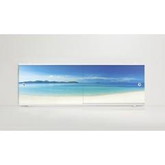 Экран под ванну 150 см. Alavann Print залив (раздвижной)