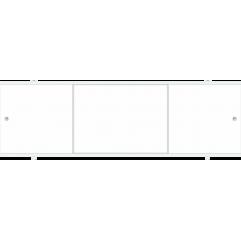 Экран под ванну 170 см. Метакам  Премиум А белый