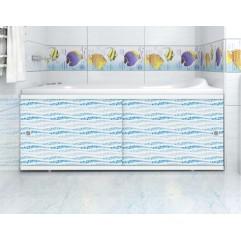 Экран под ванну 150 см. Метакам Кварт аква (раздвижной)