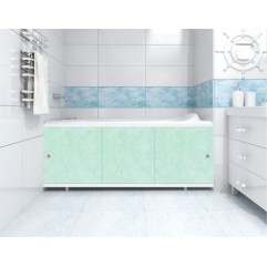 Экран под ванну 150 см. Метакам Монолит-М зеленый (раздвижной)