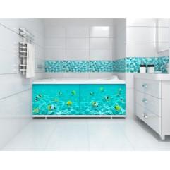 Экран под ванну 170 см.Метакам Ультралегкий-арт подводная одиссея (раздвижной)