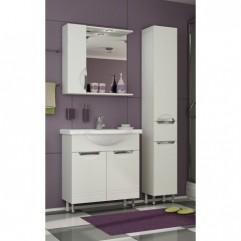 Комплект мебели для ванной Франческа Доминго 75 белый