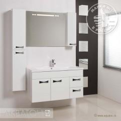Комплект мебели для ванной Акватон Диор 100 белый