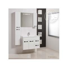 Комплект мебели для ванной Акватон Диор 80 белый