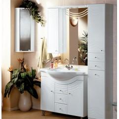 Комплект мебели для ванной Акватон Домус 95 белый