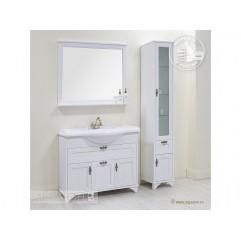 Комплект мебели для ванной Акватон Идель 105 дуб белый