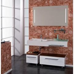 Комплект мебели для ванной Акватон Отель 127 белый