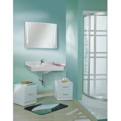 Комплект мебели для ванной Акватон Отель 80 белый