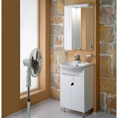 Комплект мебели для ванной Акватон Панда 50 белый