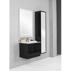Комплект мебели для ванной Акватон Римини 60 чёрный