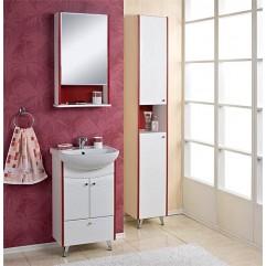 Комплект мебели для ванной Акватон Роко 50 белый/красный