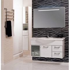 Комплект мебели для ванной Акватон Сайгон 110 белый