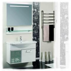 Комплект мебели для ванной Акватон Сайгон 85 белый