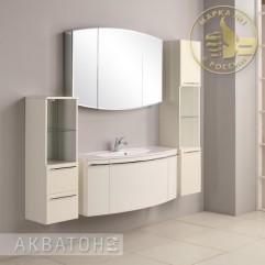 Комплект мебели для ванной Акватон Севилья 120 белый жемчуг