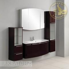 Комплект мебели для ванной Акватон Севилья 120 гранат