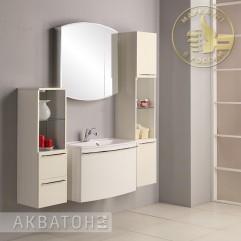 Комплект мебели для ванной Акватон Севилья 80 белый жемчуг