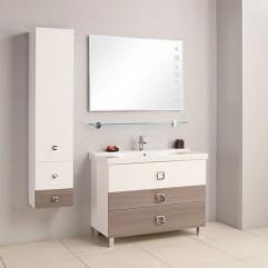 Комплект мебели для ванной Акватон Стамбул 105 лиственница