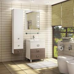Комплект мебели для ванной Акватон Стамбул 65 М лиственница