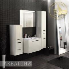 Комплект мебели для ванной Акватон Валенсия 75 белый жемчуг