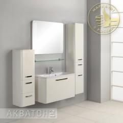 Комплект мебели для ванной Акватон Валенсия 90 белый
