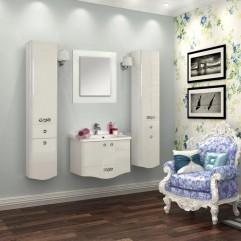 Комплект мебели для ванной Акватон Венеция 65 белый