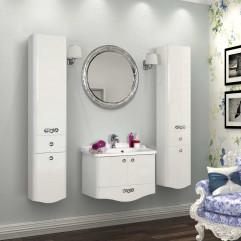 Комплект мебели для ванной Акватон Венеция 75 белый