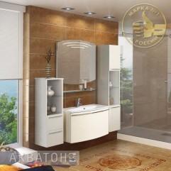 Комплект мебели для ванной Акватон Севилья 95 белый жемчуг