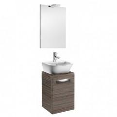 Комплект мебели для ванной Roca Gap 45 тиковое дерево