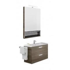 Комплект мебели для ванной Roca Gap 60 тиковое дерево
