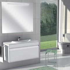 Комплект мебели для ванной Roca Laks 100 белый